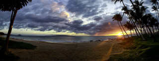 Kihei Panorama sunset 1200px